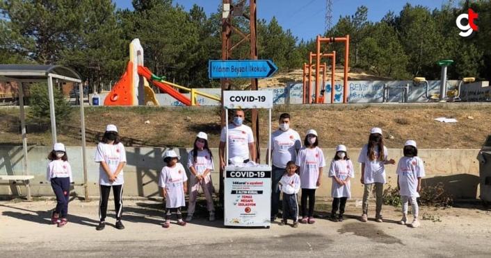 Kastamonu Belediyesi çocuklarda Kovid-19 konusunda farkındalık oluşturuyor