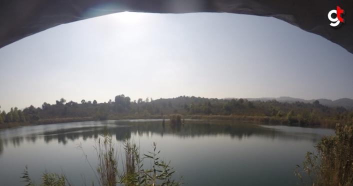 Ordu'daki Gaga Gölü'nde kilise kalıntılarına rastlandı