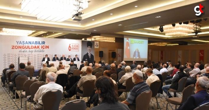 Saadet Partisi Genel Başkanı Karamollaoğlu telekonferansla Zonguldak il kongresine katıldı