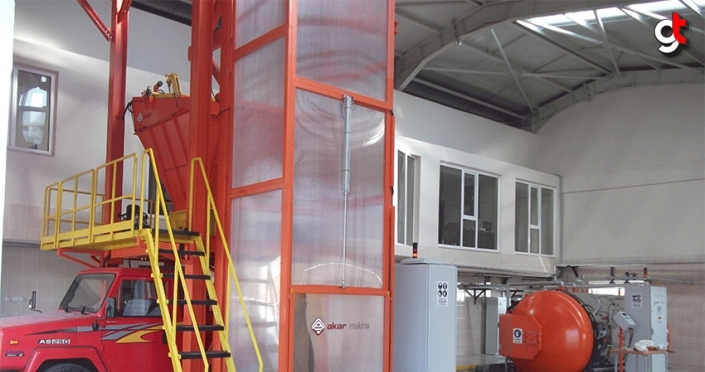 Tıbbi atık sterilizasyon tesisi hizmet vermeye devam ediyor
