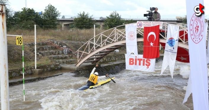 Türkiye Akarsu Slalom Şampiyonası yapıldı