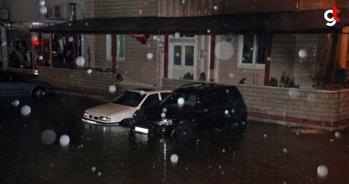 Zonguldak'ta sağanak etkili oldu
