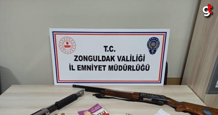 Zonguldak'ta uyuşturucu operasyonunda iki şüpheli gözaltına alındı