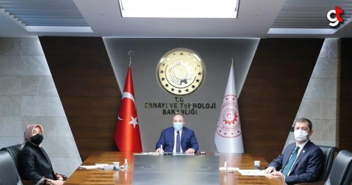 AK Parti Grup Başkanvekili Zengin'den Bakan Varank'a ziyaret