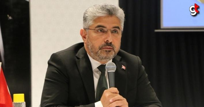 AK Parti Samsun İl Başkanı Ersan Aksu, başkan yardımcılarının görevlerini belirledi