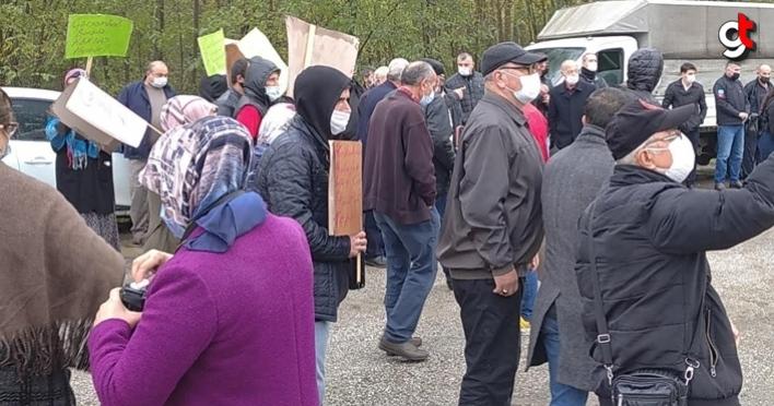 Çarşamba halkı, BES karşıtlarına destek vermedi