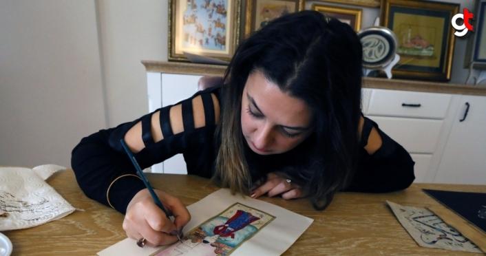 Geleneksel Türk el sanatlarını sosyal medyadan dünyaya tanıtıyor