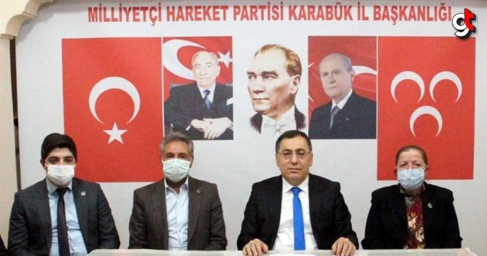 MHP İl Başkanı Adem Kar adaylığını açıkladı