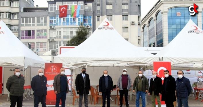 MHP Samsun İl Başkanlığının kan bağışı kampanyası sürüyor
