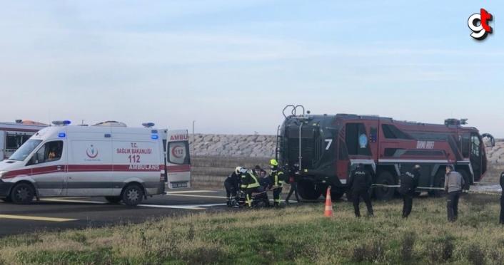 Ordu-Giresun Havalimanında Kısmi Acil Durum ve Ateşli Yangın Tatbikatı