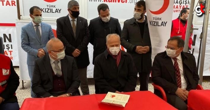 Samsun'da MHP'nin kan bağışı kampanyası başladı