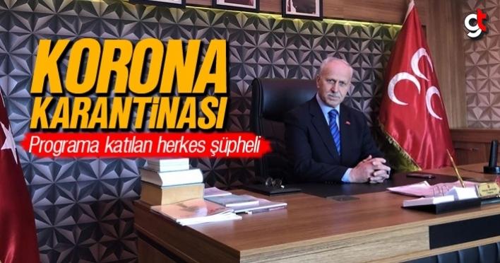 Samsun MHP'de korona karantinası