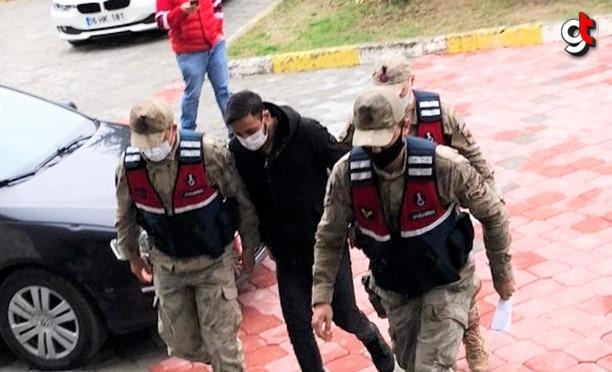 Samsun'da hakkında 15 yıl 8 ay hapis cezası bulunan kişi yakalandı