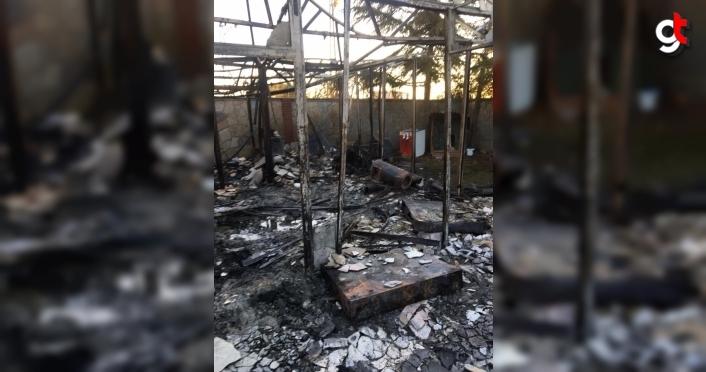 Samsun Tekkeköy'de villada çıkan yangında bir kişi hayatını kaybetti