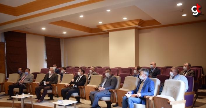 Taşköprü sarımsağında 2021 yılı üretim sezonuyla ilgili toplantı yapıldı