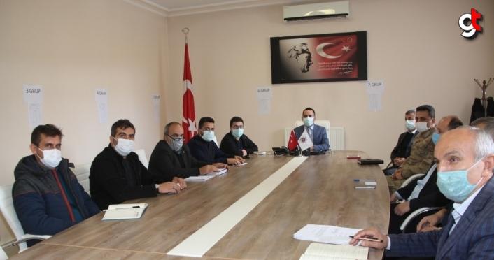 Taşova İlçe Hıfzıssıhha Kurulu Toplantısı yapıldı