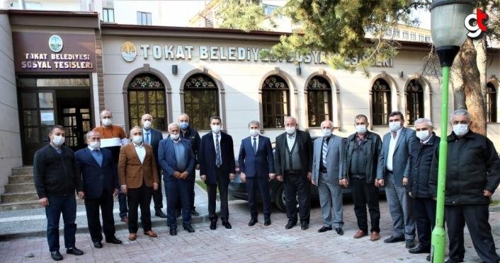 Tokat Belediye Başkanı Eroğlu esnaf temsilcileriyle bir araya geldi