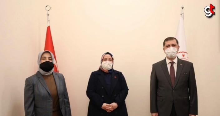 AK Parti Grup Başkanvekili Zengin'den Bakan Selçuk'a ziyaret