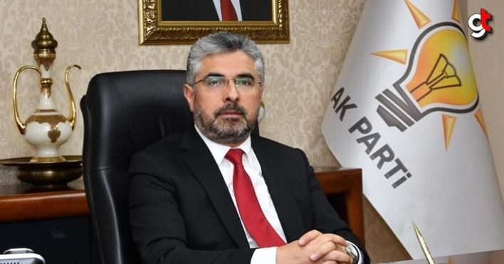 AK Parti Samsun İl Başkanı Ersan Aksu, sağlık çalışanlarına teşekkür etti