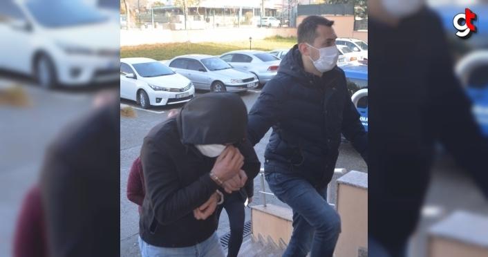 Amasya'daki uyuşturucu operasyonlarında yakalanan 3 zanlı tutuklandı