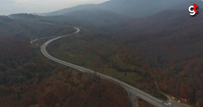 Batı Karadeniz'de hazan renkleri arasında büyüleyici yolculuk