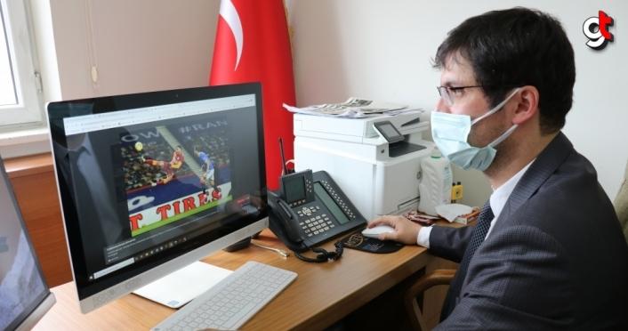 Bolu Emniyet Müdürü Erdoğan ile Sağlık Müdürü Demirkol, AA'nın