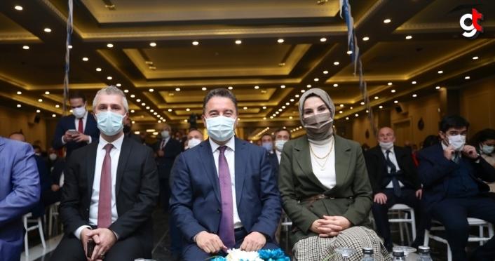 DEVA Partisi Genel Başkanı Ali Babacan, partisinin Düzce İl Kongresi'ne katıldı