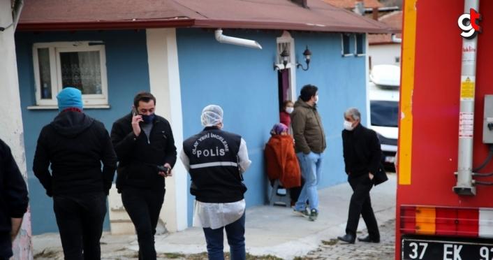 Evini ateşe verip kaçtığı iddia edilen kadın aranıyor