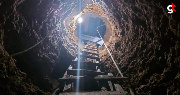 Gümüşhane'de define aramak için köy evinde tünel kazan kişiler suçüstü yakalandı