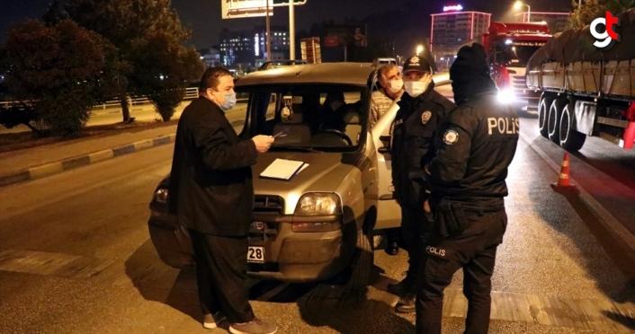 Karabük'te bitmesine saatler kala karantinayı ihlal eden kişiye para cezası uygulandı