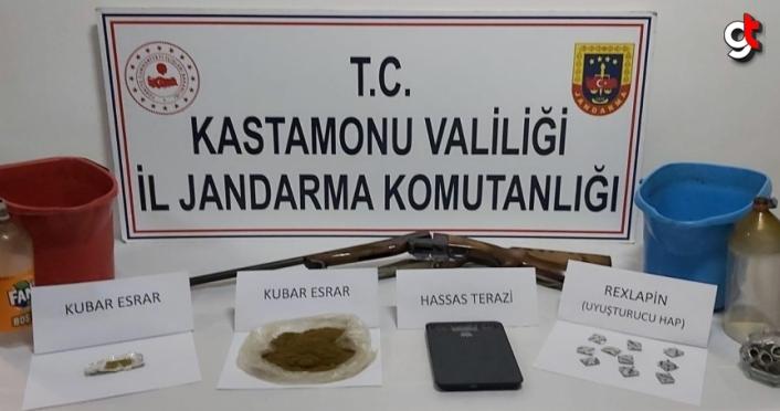 Kastamonu'daki uyuşturucu operasyonunda 2 tutuklama