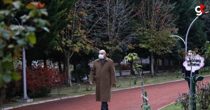 Keçiören'de sarının ve yeşilin her tonu Atatürk Botanik Bahçesi'nde