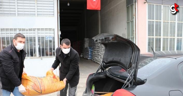 Kovid-19 hastasından büyükbaş hayvanları için Vefa Sosyal Destek ekibinden yardım talebi