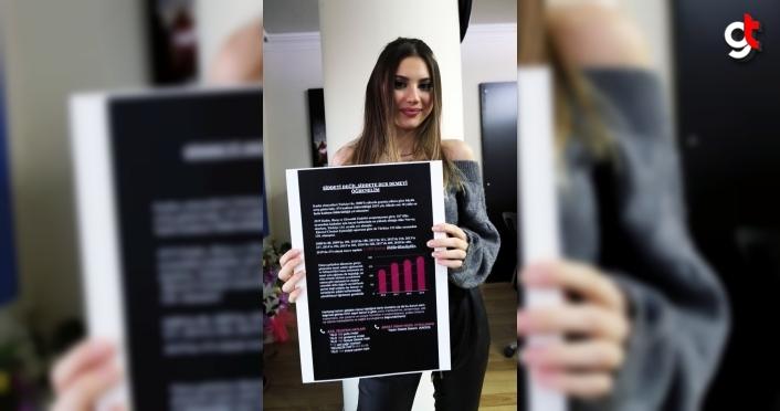 Lise öğrencisinden kadınlar için farkındalık projesi