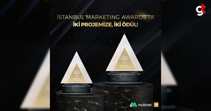 Multinet Up'a İstanbul Marketing Awards'tan iki kategoride