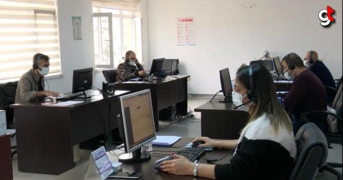 Ordu'da Kovid-19 İletişim Merkezi kuruldu