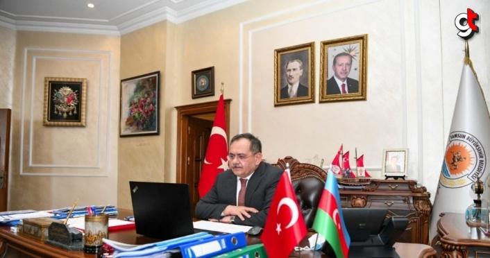Samsun Büyükşehir Belediye Başkanı Mustafa Demir, Türkiye Belediyeler Birliği toplantısına katıldı