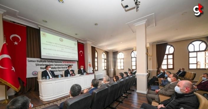 Samsun Büyükşehir Belediyesinde toplu sözleşme sevinci