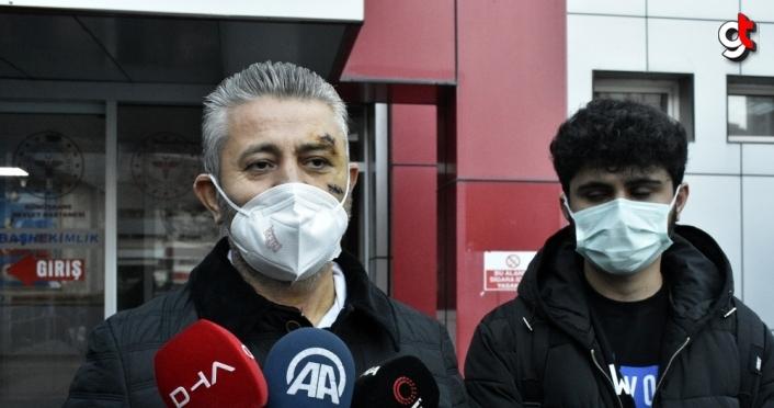 Sİlahlı saldırıda yaralanan Gümüşhanespor Kulübü Başkanı Olgun taburcu edildi