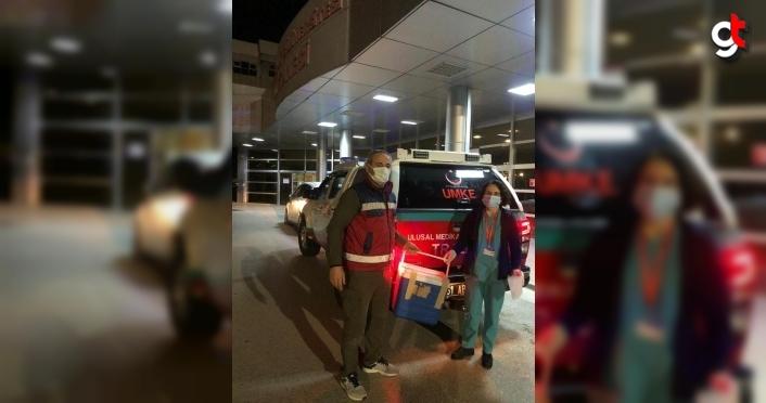 Trabzon'da beyin ölümü gerçekleşen hastanın organları 3 kişiye umut oldu