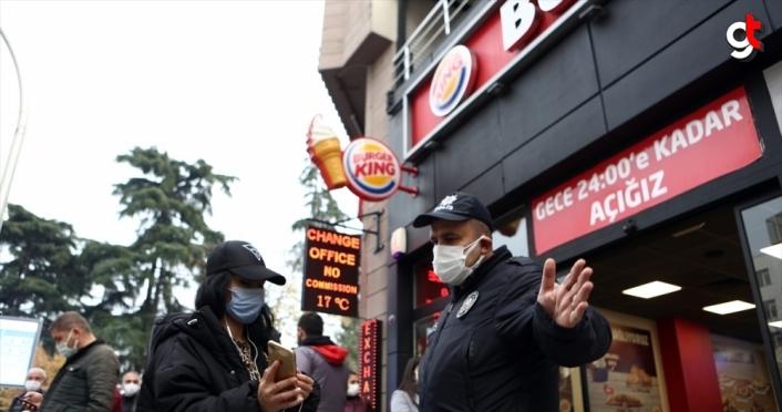 Trabzon'da yoğun yerlerde vatandaşa HES kodu sorulmaya başlandı