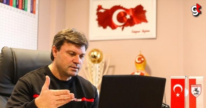 Yılport Samsunspor'da ilk yarı hedefi 33 puan