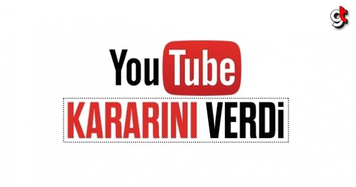Youtube, Türkiye için kararını verdi