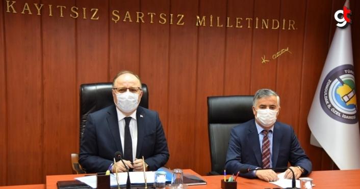 Zonguldak Turizm Altyapı Hizmet Birliği toplantısı