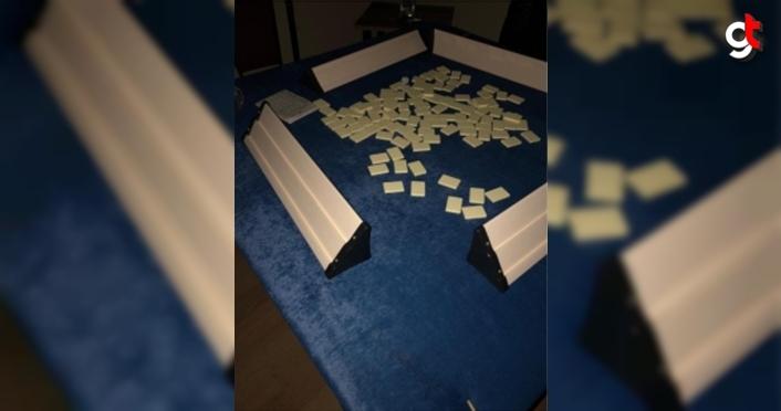 Zonguldak'ta kumar oynanan evdeki 13 kişiye 13 bin 980 lira ceza