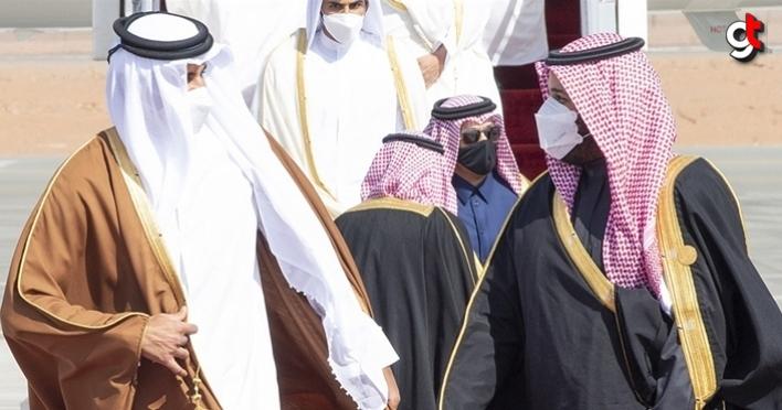 ABD'den umduğunu bulamayan Suudi Arabistan Veliaht Prensi Katar'la görüştü