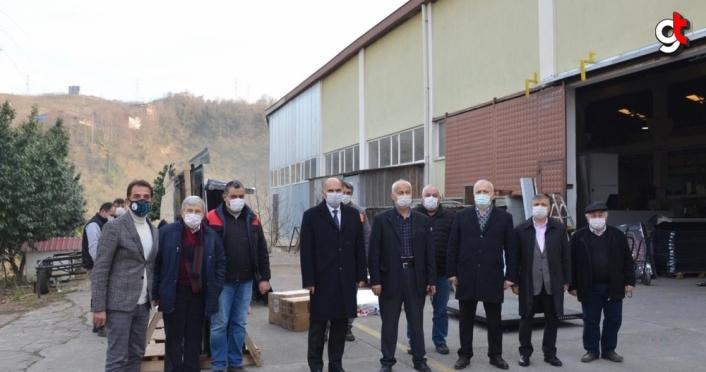 AK Parti Giresun Milletvekili Öztürk'ten OSB ziyareti