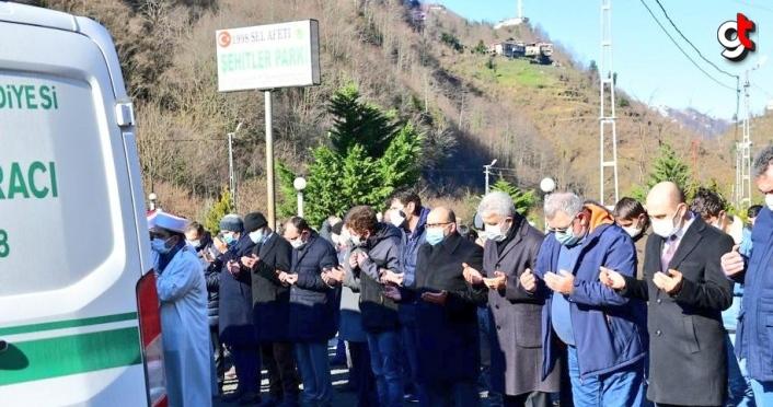 AK Parti Grup Başkanvekili Mehmet Muş'un amcası Trabzon'da toprağa verildi
