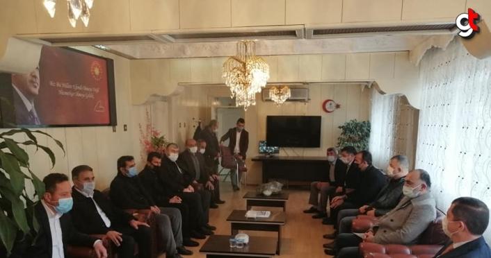 AK Parti Tokat Milletvekili Arslan Artova'yı ziyaret etti