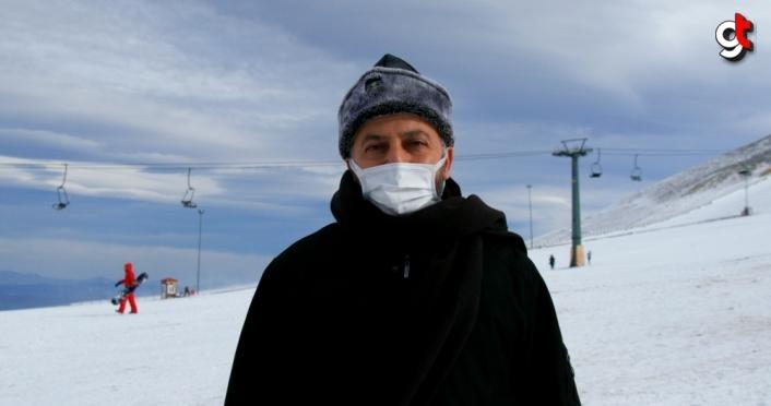 Adnan İpekdal, Samsunluları Akdağ Kayak Merkezi'ne davet etti